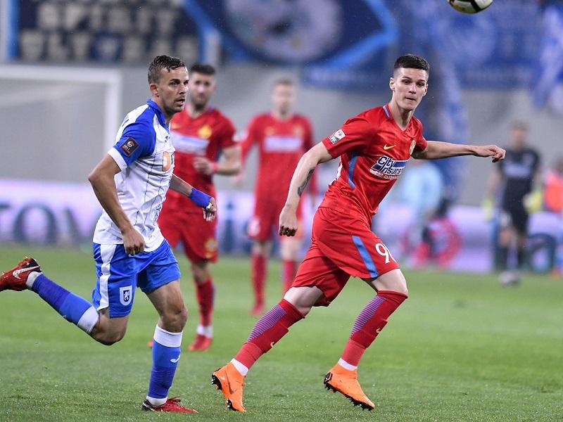 U Craiova - FCSB 0-2   Au sarit la bataie   Golurile ...   Craiova Fcsb
