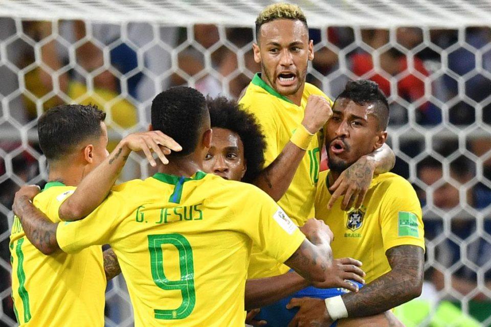 Neymar, Paulinho, Gabriel Jesus, Brazilia