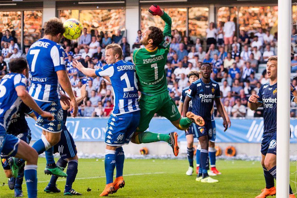 Fază meci IFK Goteborg - Djurgarden, Suedia, Allsvenksan
