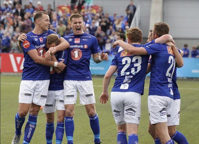Fază meci din campionatul Norvegiei