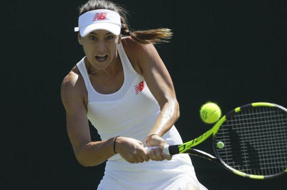 Sorana Cîrstea la turneul de tenis de la Wimbledon