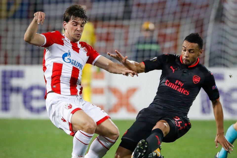 Fază meci Steaua Roșie Belgrad, Serbia
