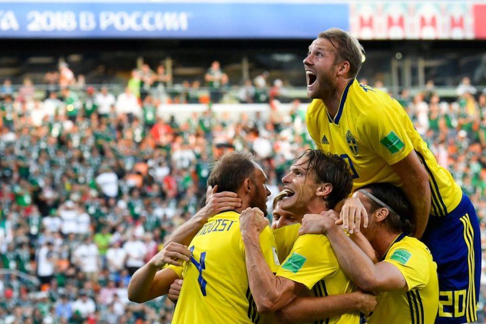 Grup jucători Suedia