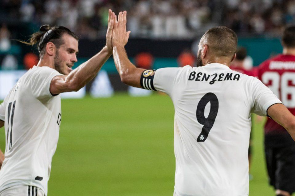 Karim Benzema si Gareth Bale, jucatori Real Madrid, Spania, La Liga