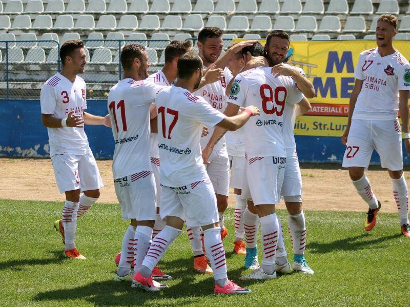Grup de jucatori Hermannstadt, Romania, Liga I