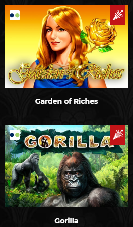 Garden of Riches și Gorilla MaxBet