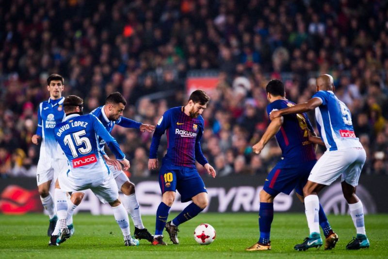 Messi, in Espanyol - Barcelona