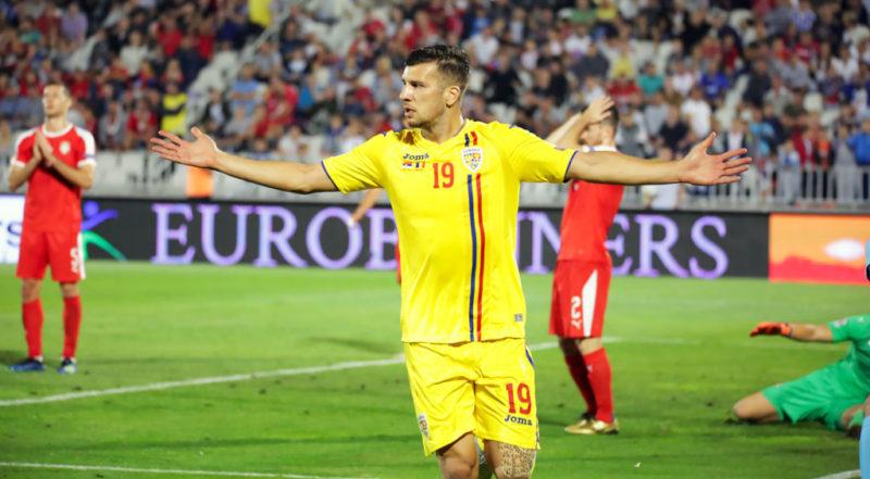 Țucudean, jucător la România