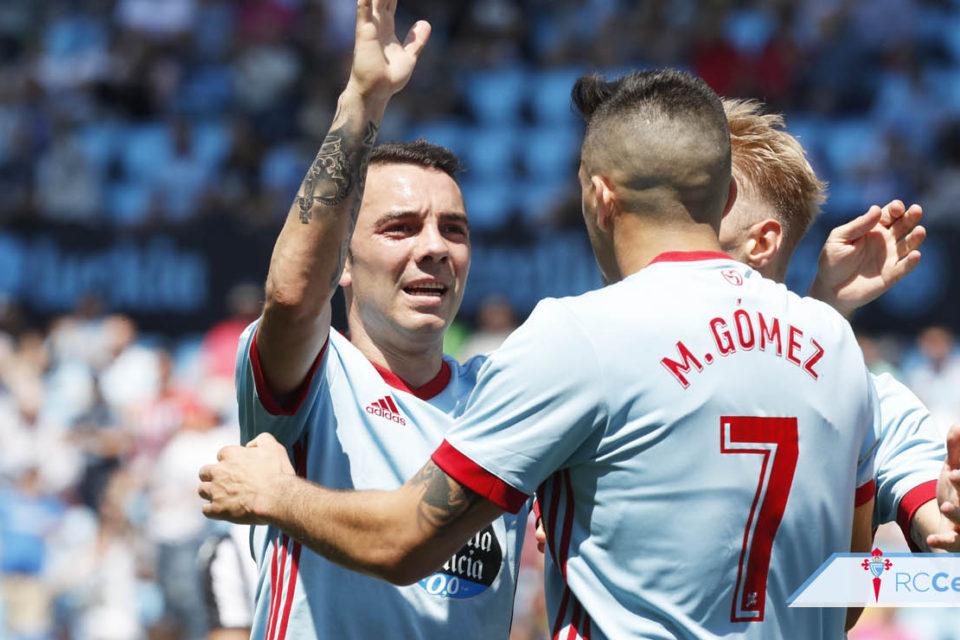 Aspas si Maxi Gomez, jucatori Celta Vigo, Spania, La Liga