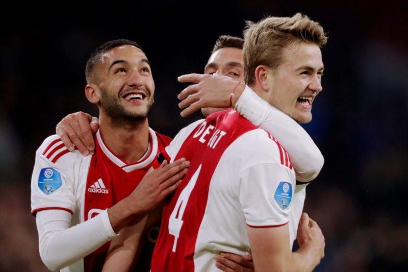 Ajax, echipă în Eredivisie, în Olanda