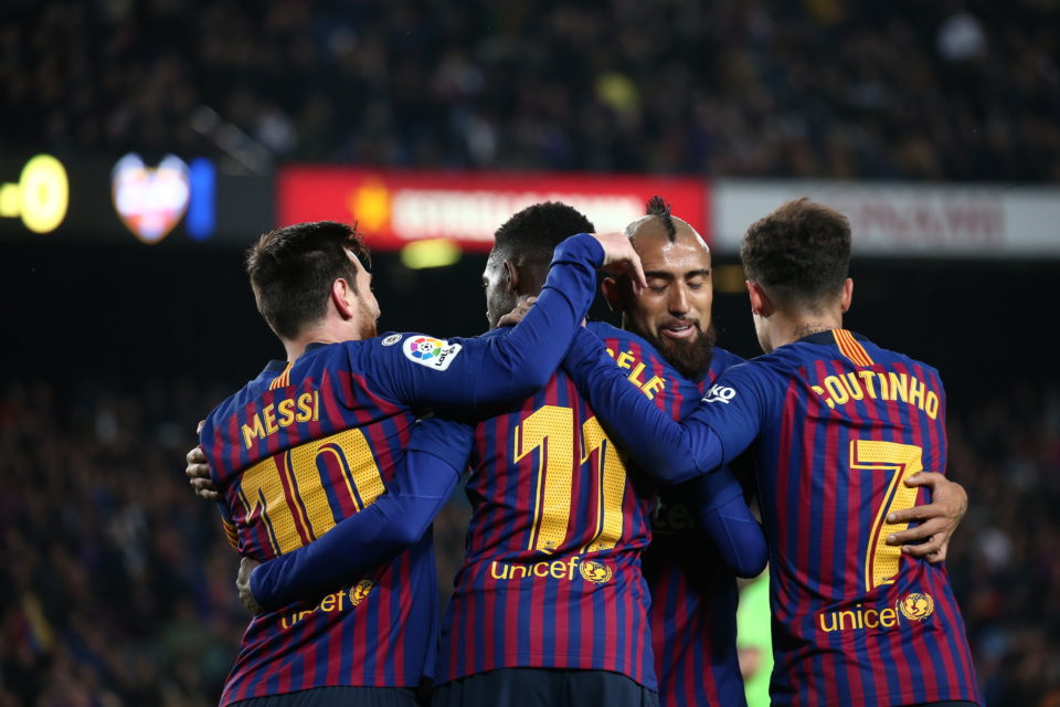 FC Barcelona, echipă în La Liga, în Spania
