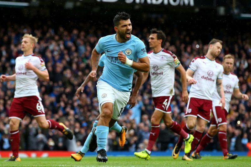 Kun Aguero, jucător la Manchester City, în Premier League