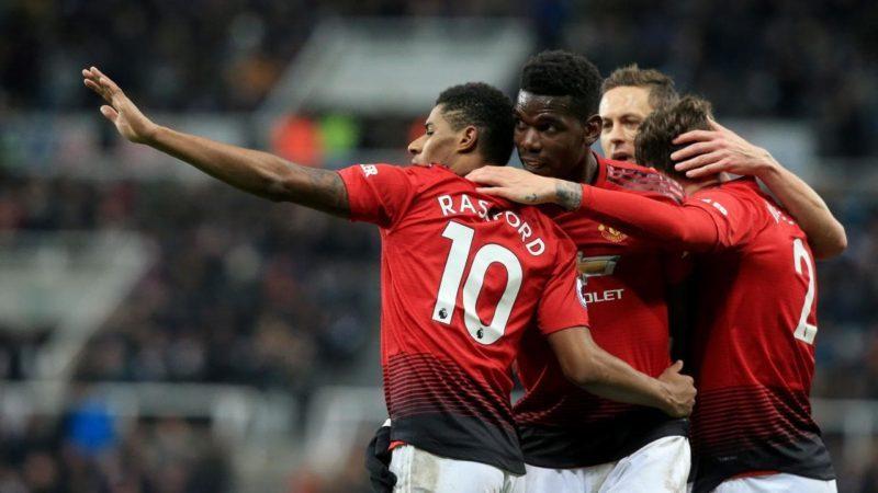 Manchester United, echipă în Premier League, în Anglia