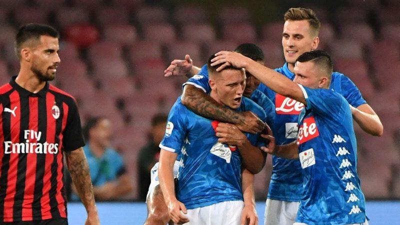 Napoli, echipă în Serie A, în Italia