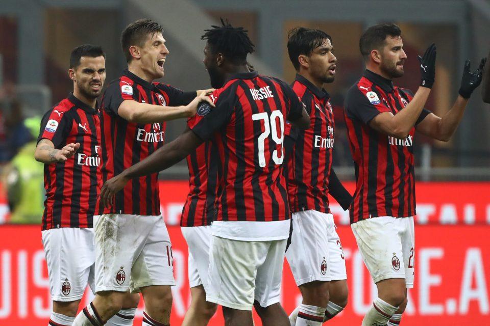 AC Milan, echipă în Serie A, în Italia