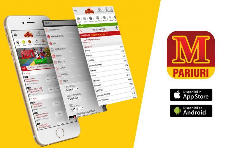 Pariuri sportive și casino pe mobil la Maxbet în 2019. Descarcă aplicația!