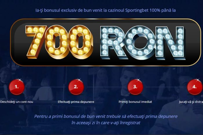 Bonus casino automat 700 RON Sportingbet 2019. Tutorial video