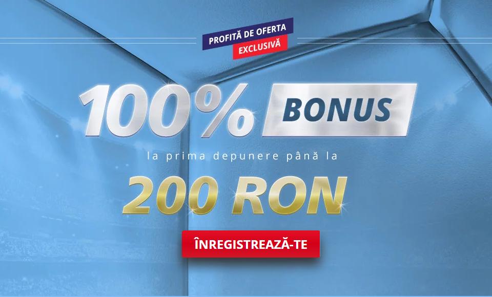 Bonus pariuri sportive la Sportingbet 2019. Așa iei 200 RON automat