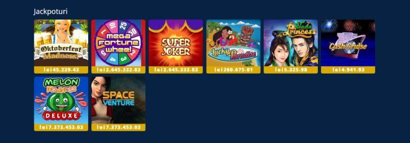 Ce jackpoturi sunt la casino Sportingbet în 2019