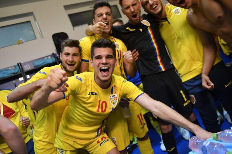 Romania U21 se pregateste pentru Campionatul European de tineret