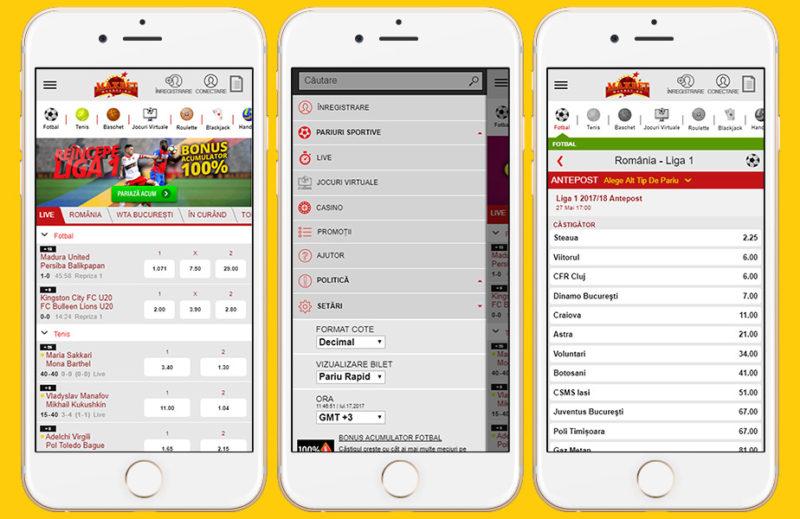 Aplicația pentru pariuri sportive de la Maxbet. Avantaje