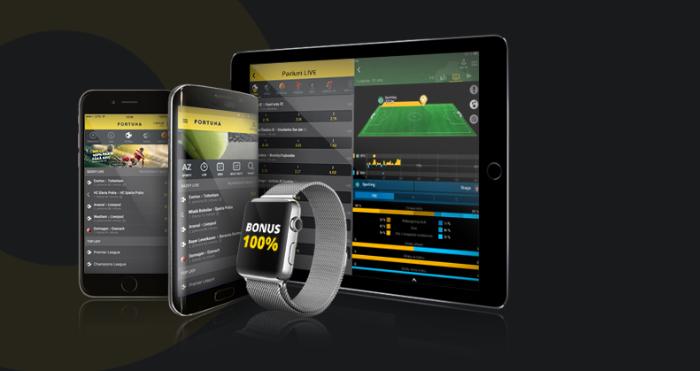 Aplicația Fortuna pentru iOS și Android. Cum pariezi pe mobil VIDEO