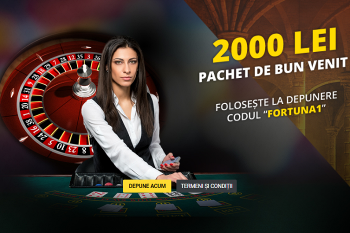 Bonus 2.000 RON la Casino, Live Casino și Vegas de la Fortuna VIDEO