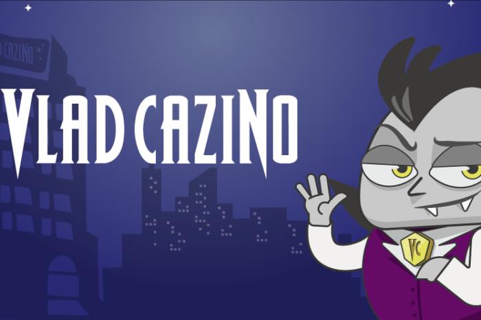 Bonus de bun venit la Vlad Cazino 100% până la 999 RON și 30 de rotiri gratuite