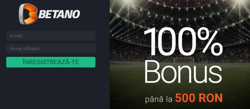 Primești 500 RON bonus automat de bun venit dacă ești client nou