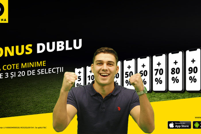 Cum pariezi bilet bonus dublu la Fortuna online