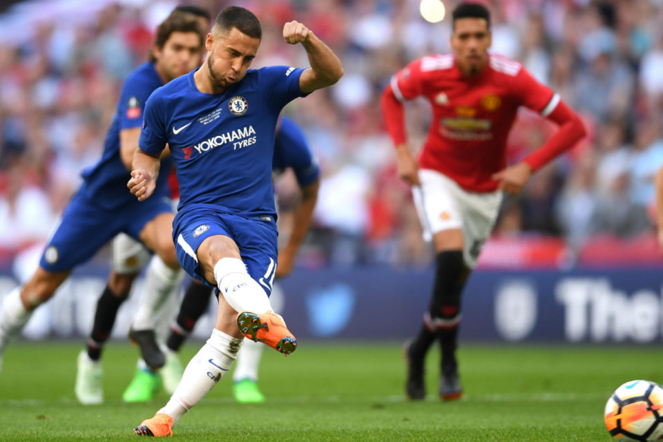 Eden Hazard, jucător la Chelsea, în Premier League