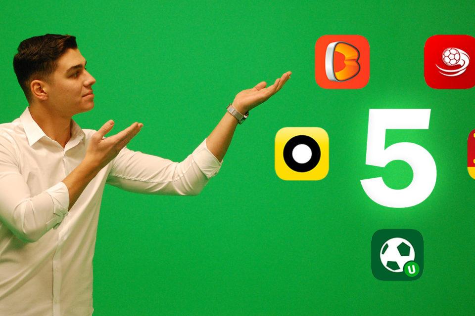 TOP 5 aplicatii de pariuri online