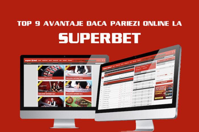 Vrei să pariezi online la Superbet. Top 9 lucruri bine de știut