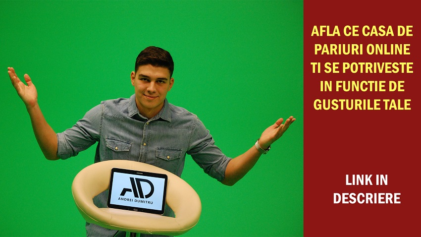 Andrei Dumitru iti face recomandari la pariuri online