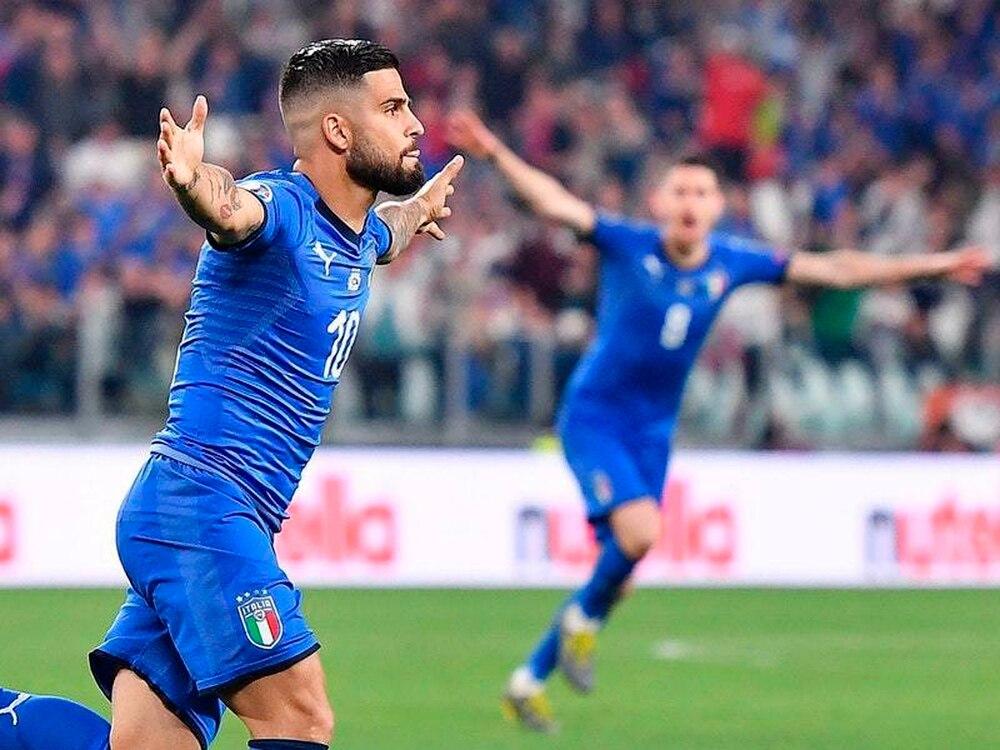 Lorenzo Insigne, jucator nationala Italiei