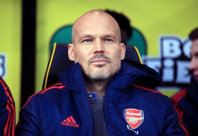 Freddie Ljunberg, antrenor Arsenal, Premier League, Anglia