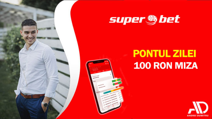 Pontul Zilei din oferta Superbet. Pariez 100 RON pe zi în luna iulie