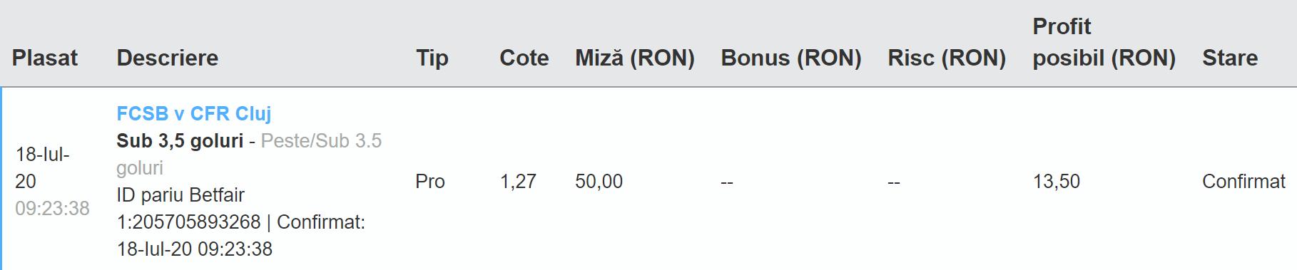 Bilet Exchange 18.07.2020