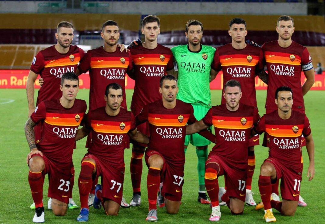 Grup de jucatori AS Roma