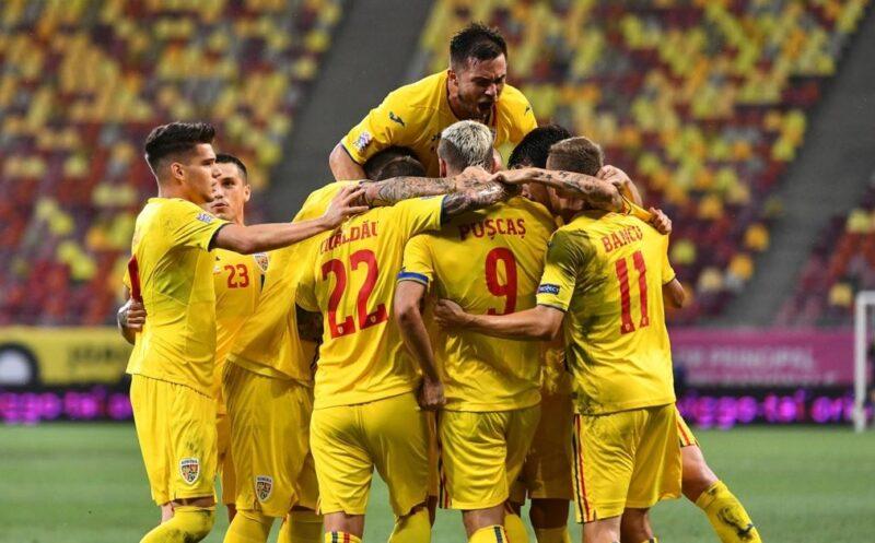 Grup de jucatori Romania