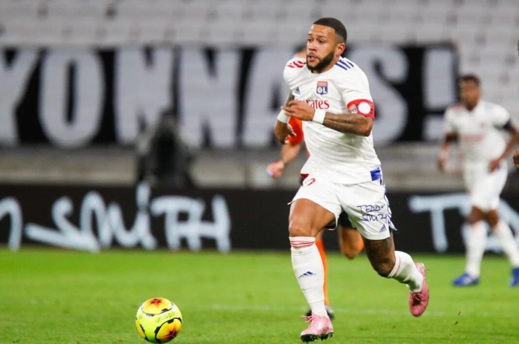 Memphis Depay, Lyon, Ligue 1